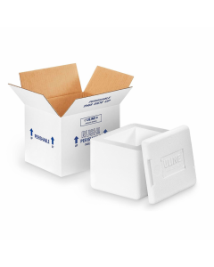 Insulated Foam Shipping Box - 6 x 5 x 4 1⁄2""